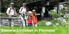 Summer Activities in Filzmoos